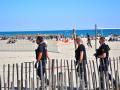 Patrol at the beach